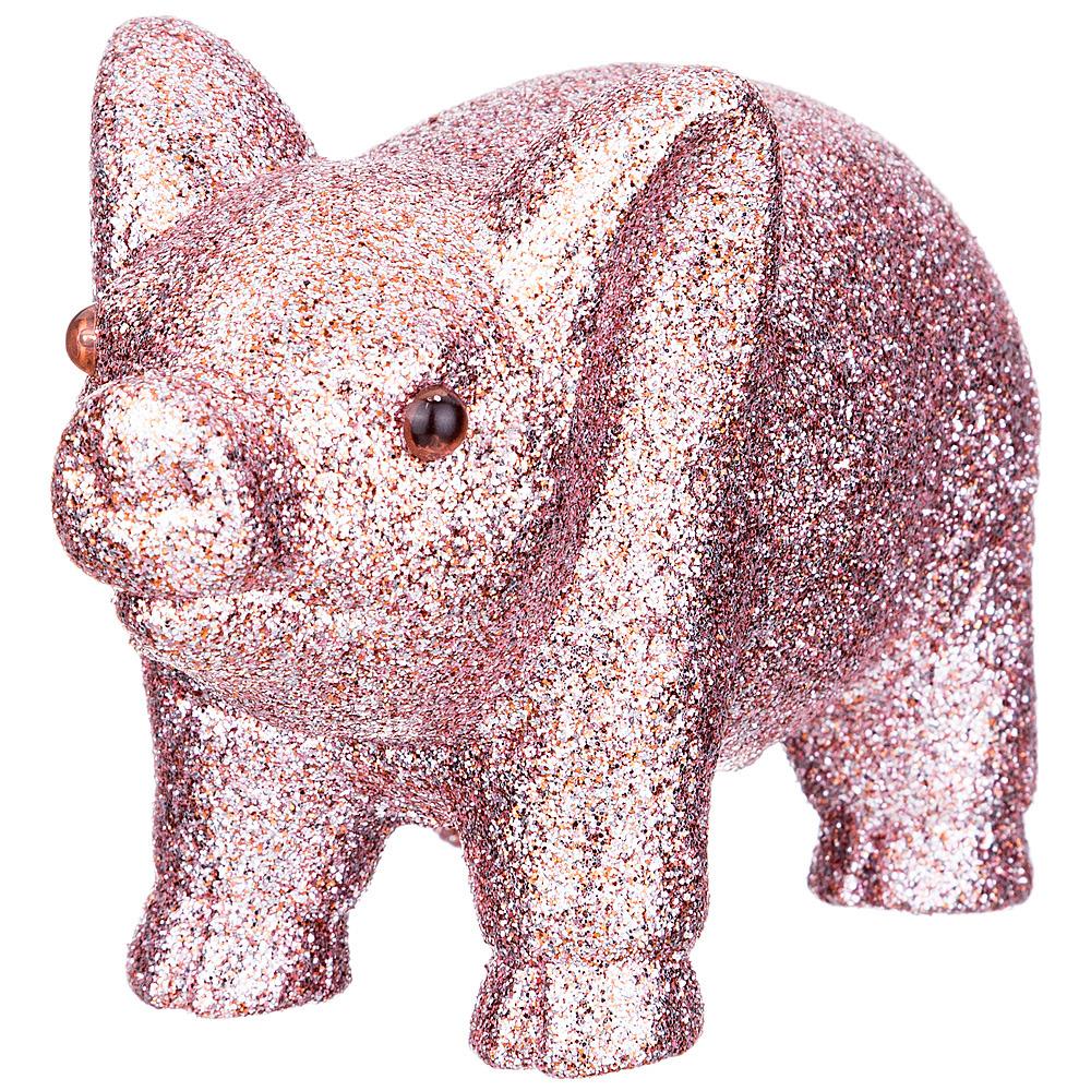 Фигурка декоративная Lefard Бронзовая свинка, 866-102, бронза, 13 х 6 х 8 см декоративная фигурка magic time свинка с фонариком 6 х 4 х 8 см
