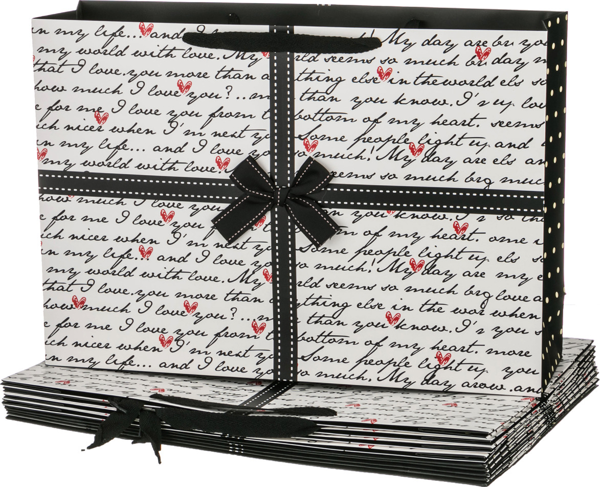 Пакеты бумажные Lefard, 521-019, 44.5 х 31 х 12 см, 10 шт