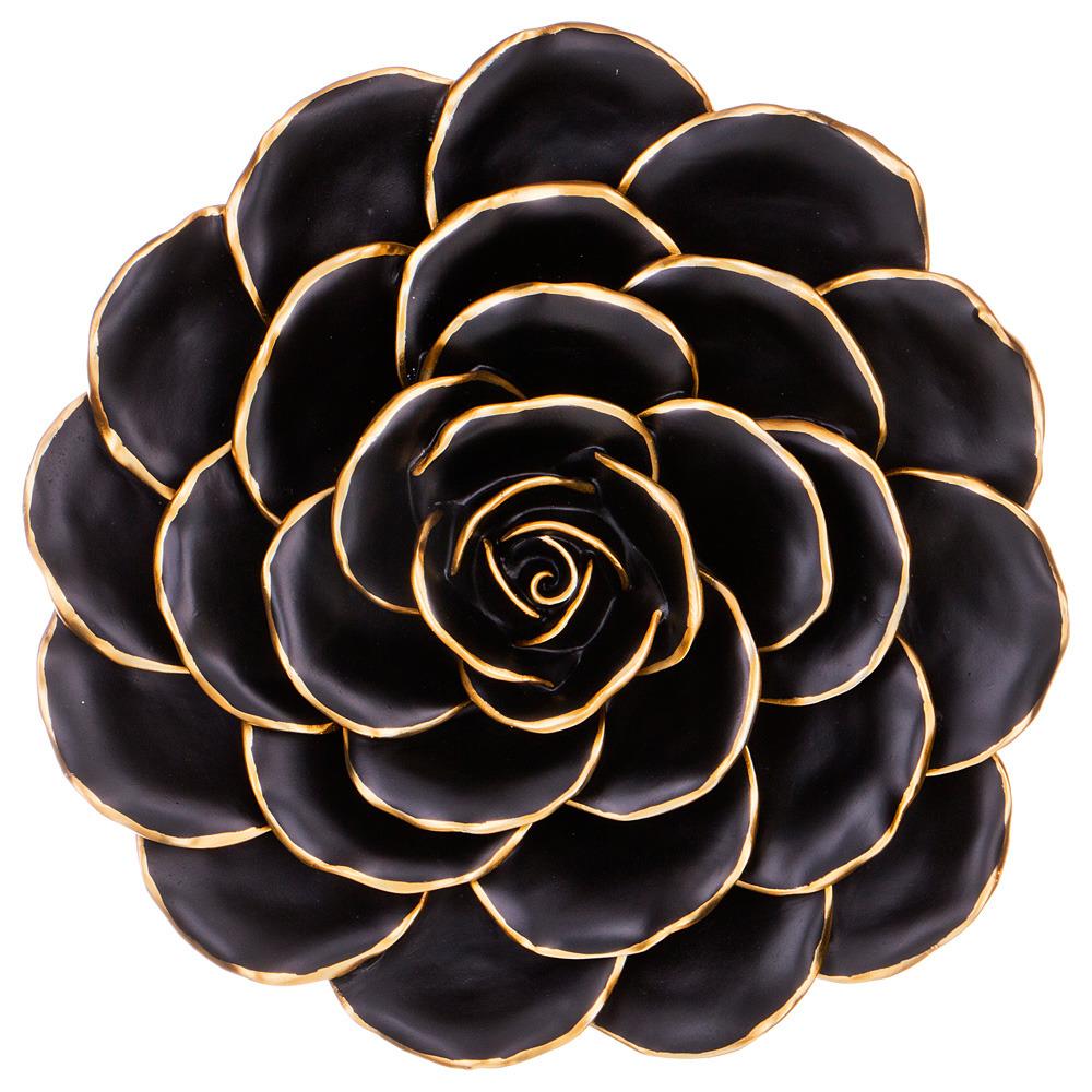 Украшение для интерьера Lefard Цветок, 537-314, диаметр 30 см цена