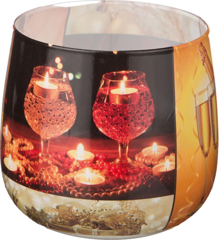 Свеча праздничная Lefard Карнавал, 348-439, разноцветный, 6 х 7 см свеча праздничная lefard christmas time 348 438 разноцветный 6 х 7 см