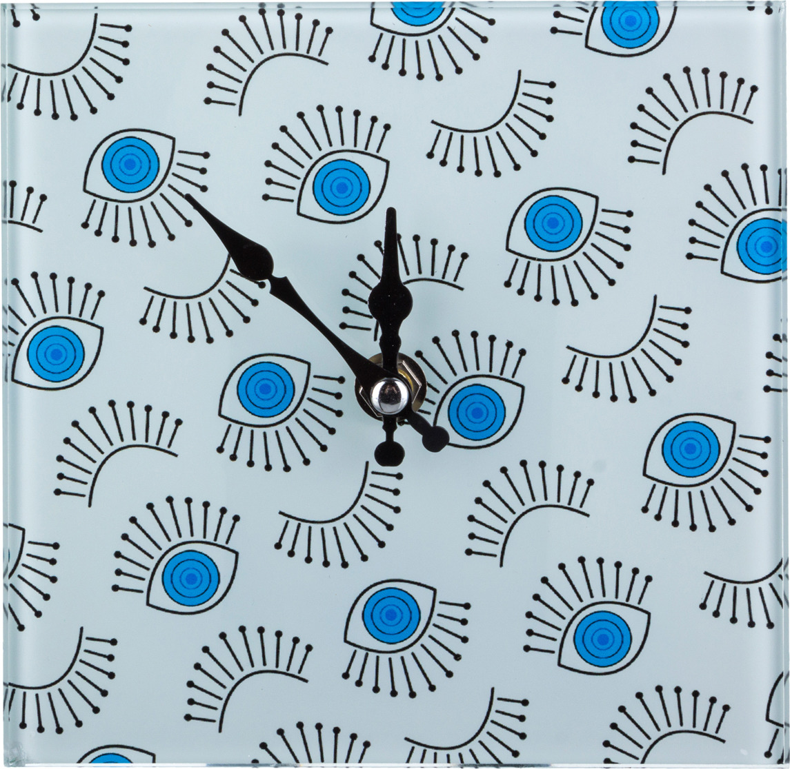 Настольные часы Lefard, 44-219, электронные, разноцветный, 15 х 15 см