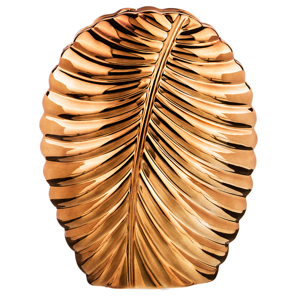 Ваза Lefard, 112-419, золотистый, 21 х 8.5 х 30 см ваза lefard 112 431 золотистый 21 х 12 х 34 5 см
