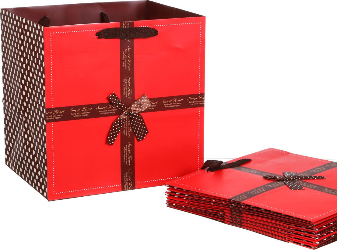 цена на Пакеты бумажные Lefard, 521-088, 30 х 30 х 25 см, 10 шт