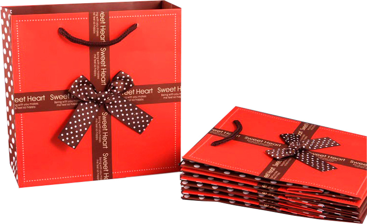 Пакеты бумажные Lefard, 521-031, 20 х 20 х 8 см, 10 шт
