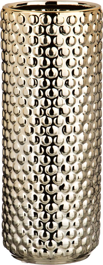 "Ваза Lefard ""Галактика золотая шампань"", 112-341, золотой, 12.5 х 12.5 х 31.5 см"