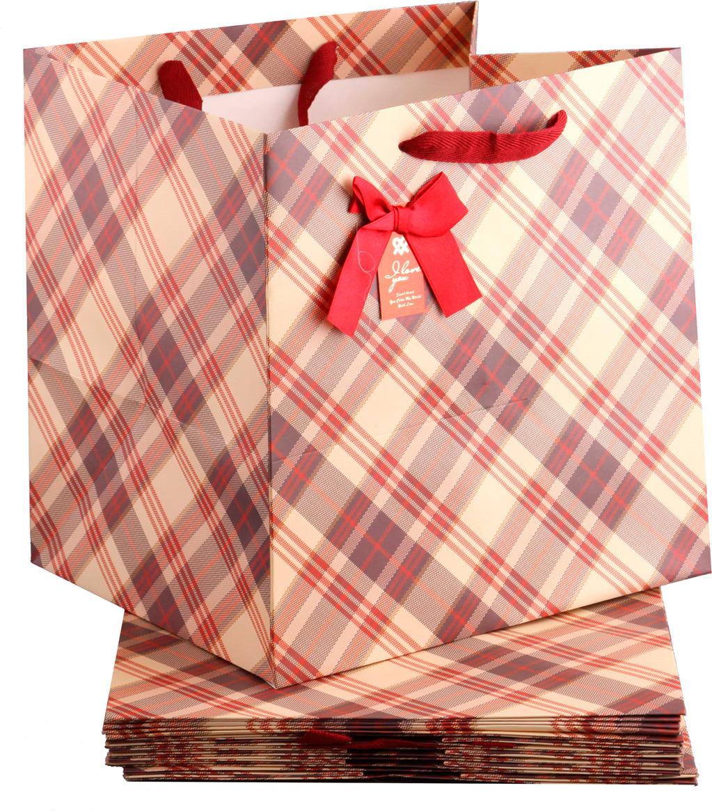 Пакеты бумажные Lefard, 521-094, 30 х 30 х 25 см, 10 шт