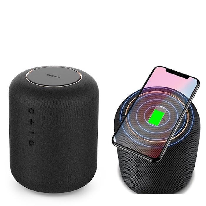 Беспроводная зарядка + Bluetooth акустика Baseus Encok E50 sf12025m12s dc12v 0 2a brushless cooling fan