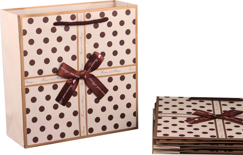 Пакеты бумажные Lefard, 521-024, 20 х 20 х 8 см, 10 шт
