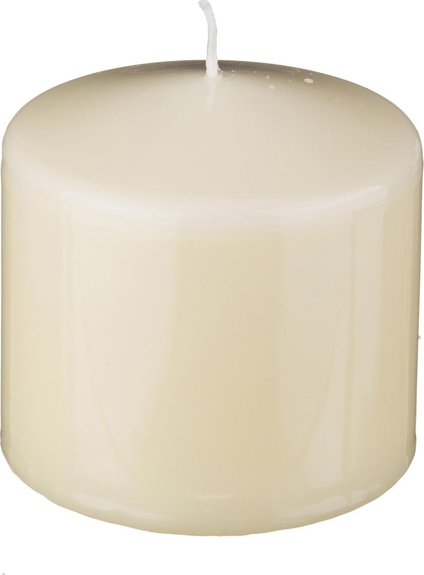 Свеча праздничная Lefard, 348-402, кремовый, 10 х 10 см