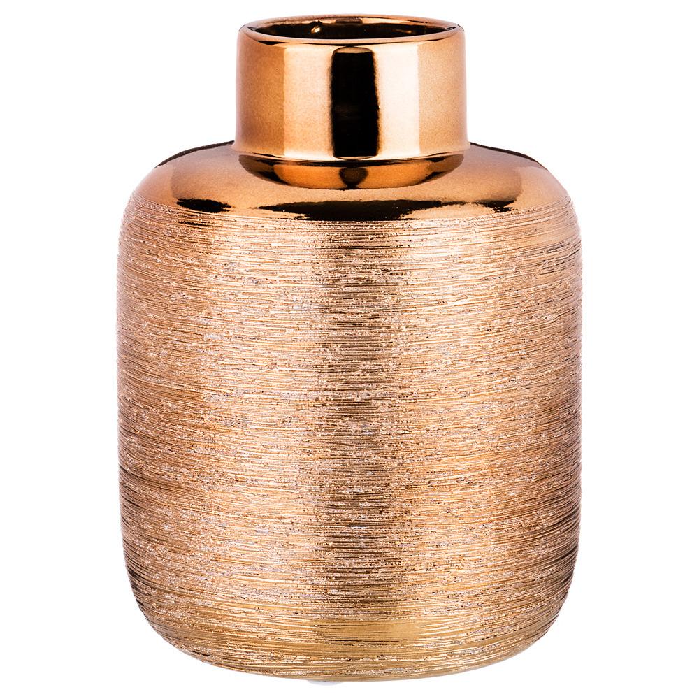Ваза Lefard, цвет: бронзовый, 11,8 х 11,8 х 15,5 см