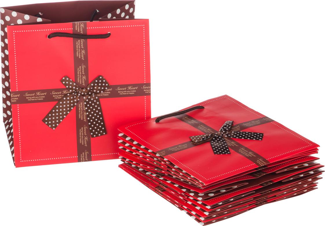 Пакеты бумажные Lefard, 521-080, 21 х 22 х 16 см, 10 шт