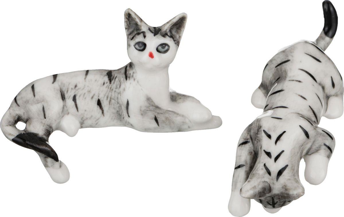 Набор елочных игрушек Lefard Кошки, 101-478, белый, черный, 9 см, 2 шт набор елочных игрушек русские подарки веселый новый год 9 шт 71435