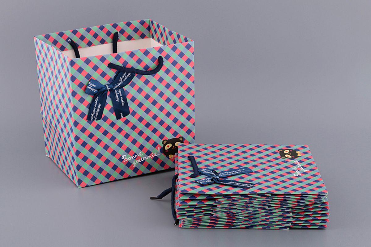 Пакеты бумажные Lefard, 521-083, 21 х 22 х 16 см, 10 шт