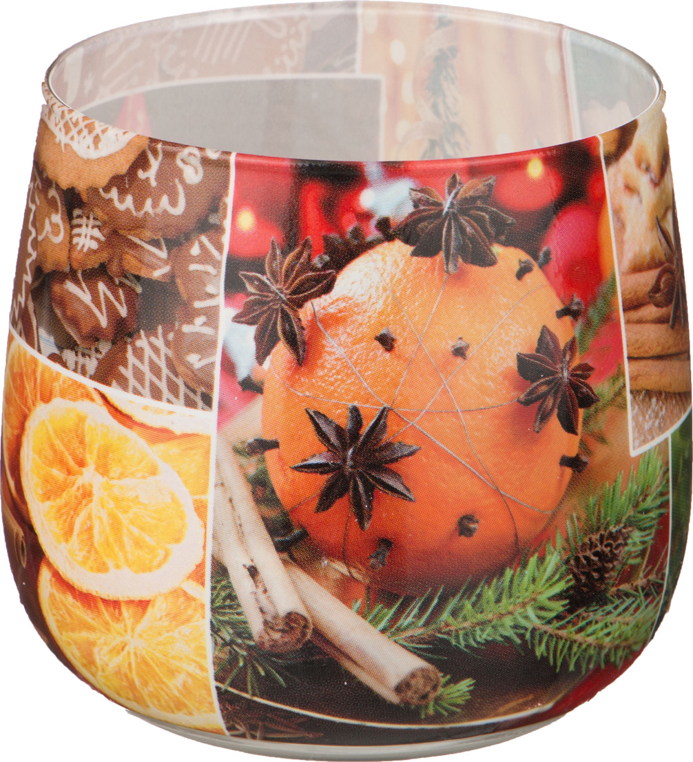 Свеча праздничная Lefard Christmas Time, 348-438, разноцветный, 6 х 7 см свеча декоративная арти м 6x7 см christmas time 348 438