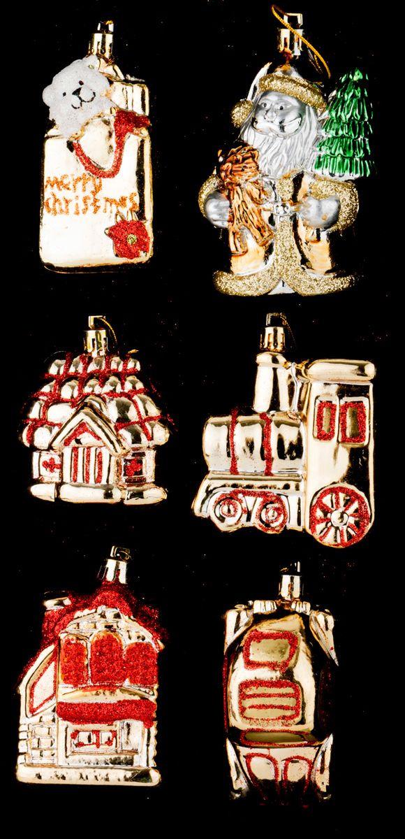 Набор украшений для интерьера Lefard Кладовая Деда Мороза, 858-035, 6 предметов бирюкова а ред подарки деда мороза придумай и дорисуй