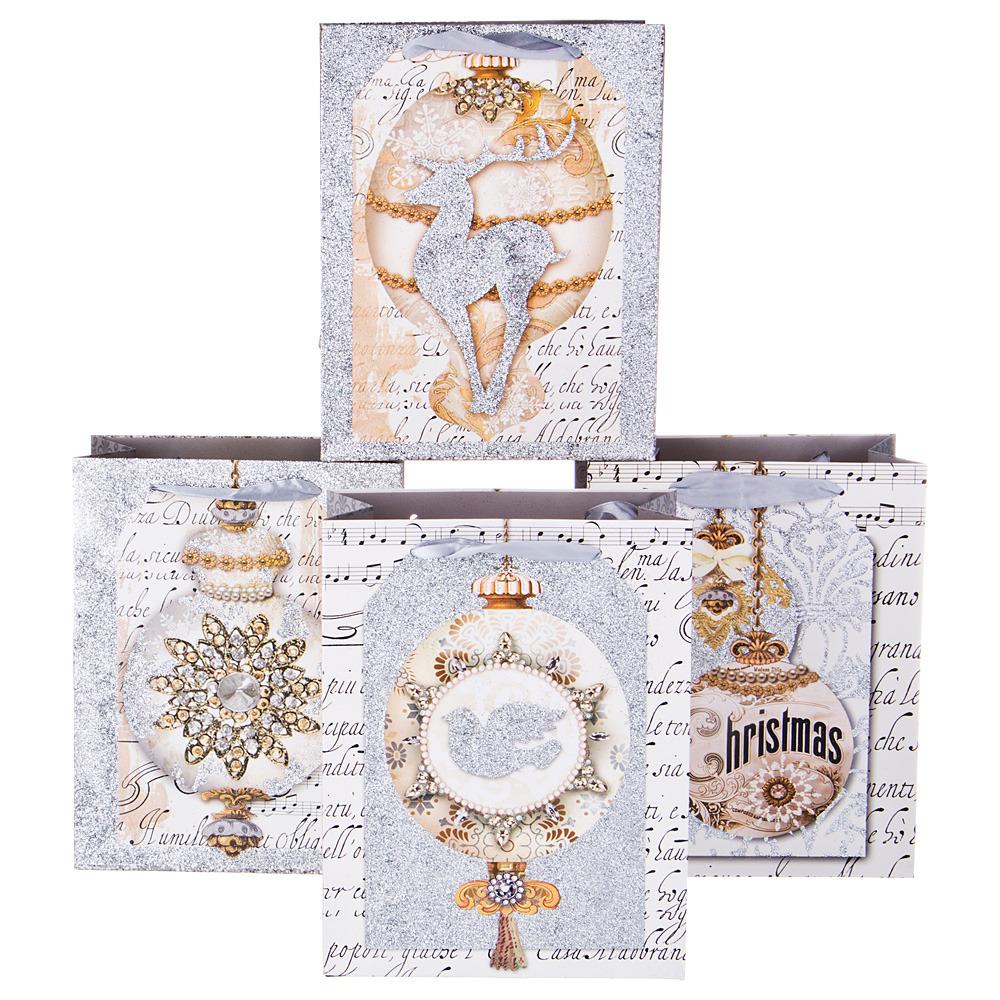 Пакеты бумажные Lefard, 512-584, 23 х 18 х 10 см, 12 шт пакеты бумажные lefard 73 545 23 х 18 х 9 см 10 шт