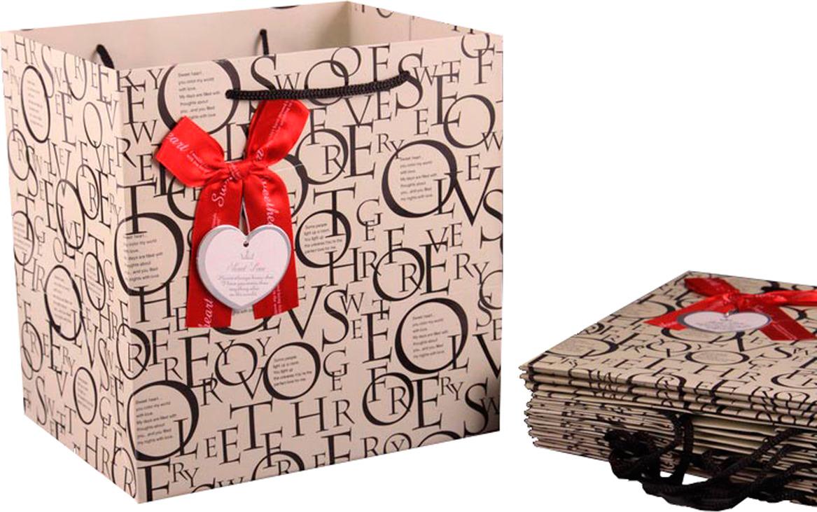 Пакеты бумажные Lefard, 521-016, 21 х 22 16 см, 10 шт