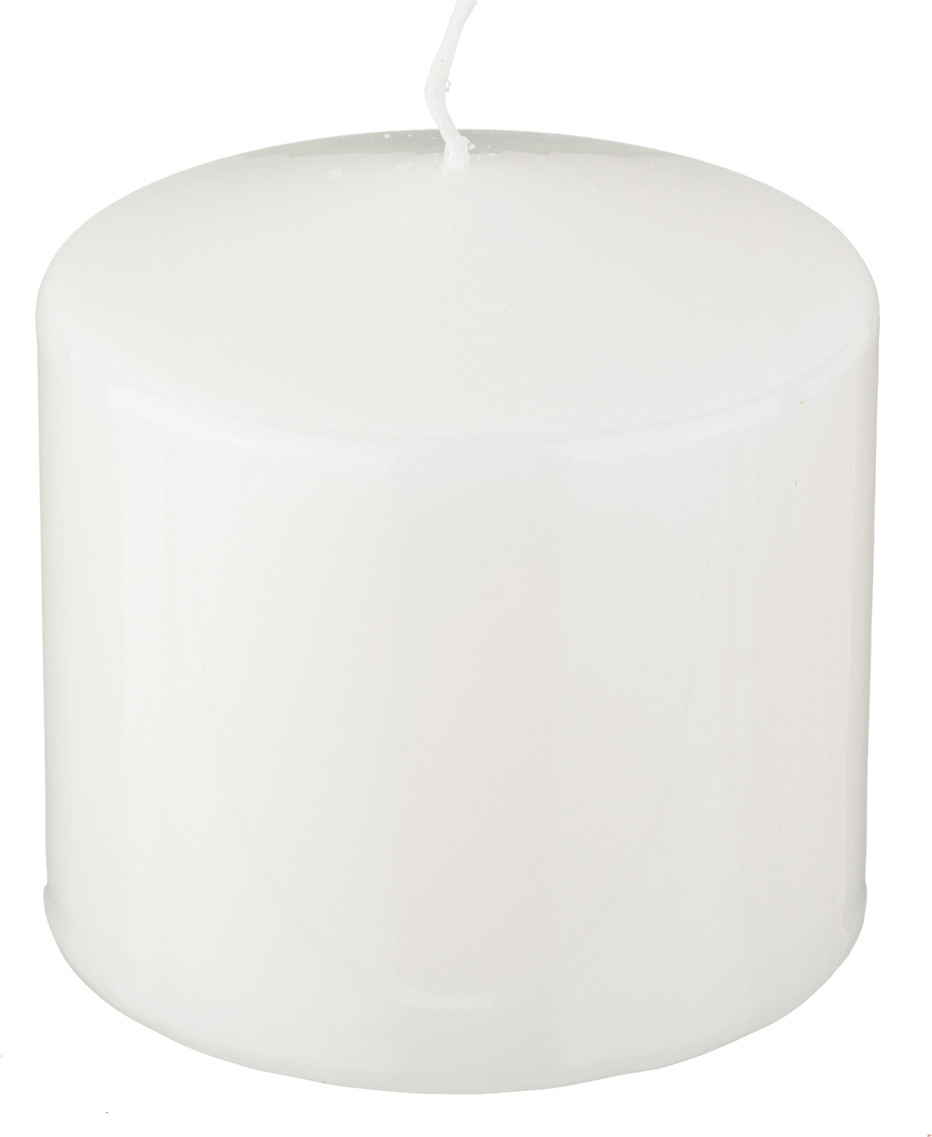 Свеча праздничная Lefard, 348-401, белый, 10 х 10 см