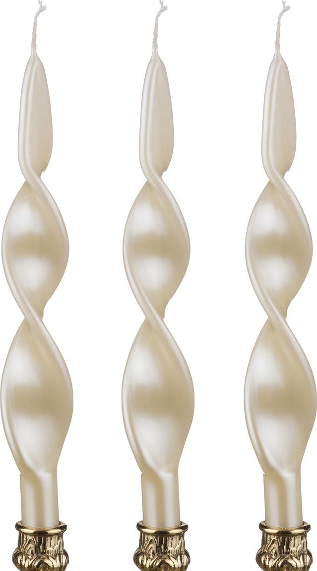 Набор свечей Lefard, 348-306, перламутровый, высота 27 см, 3 шт набор свечей lefard 348 376 фисташковый высота 29 см 10 шт