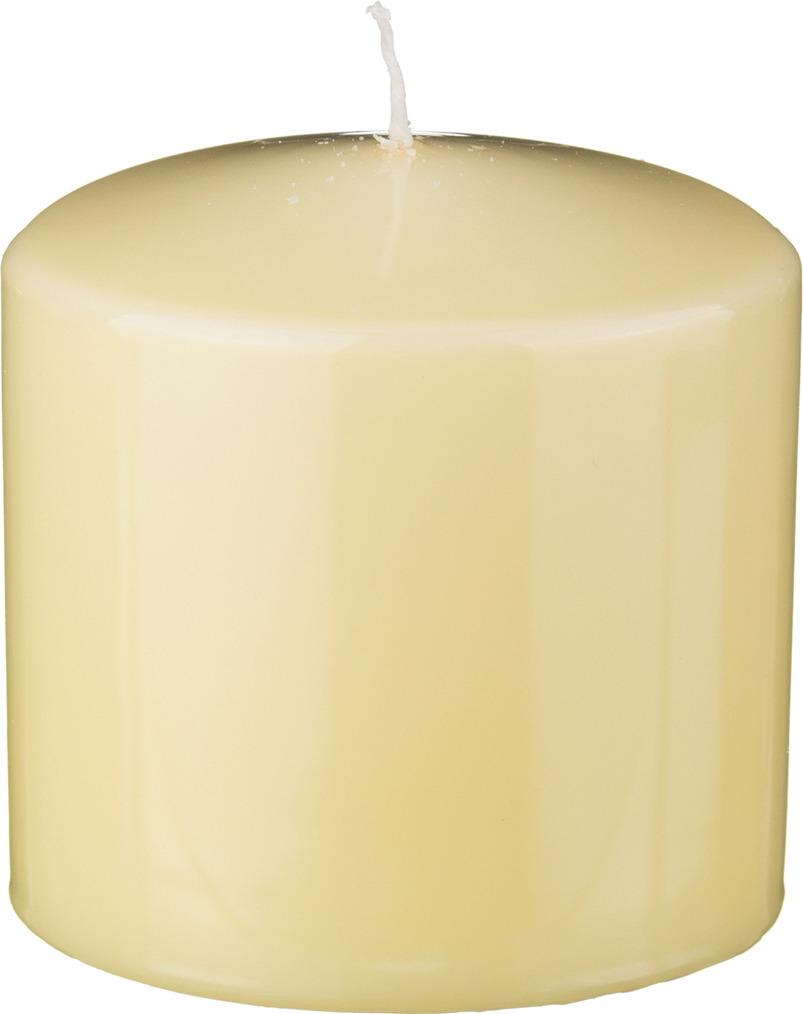 Свеча праздничная Lefard, 348-430, лимонный, 10 х 10 см