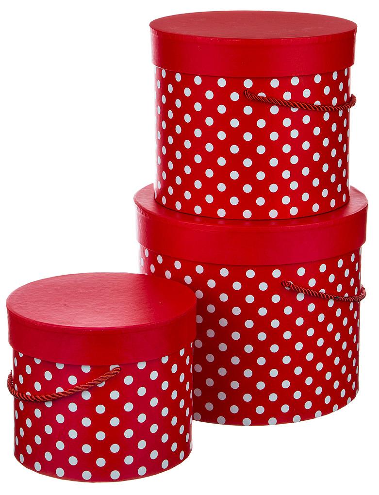 Набор подарочных коробок Lefard, 37-269, красный, 3 шт набор подарочных коробок veld co грезы путешественника 11 шт