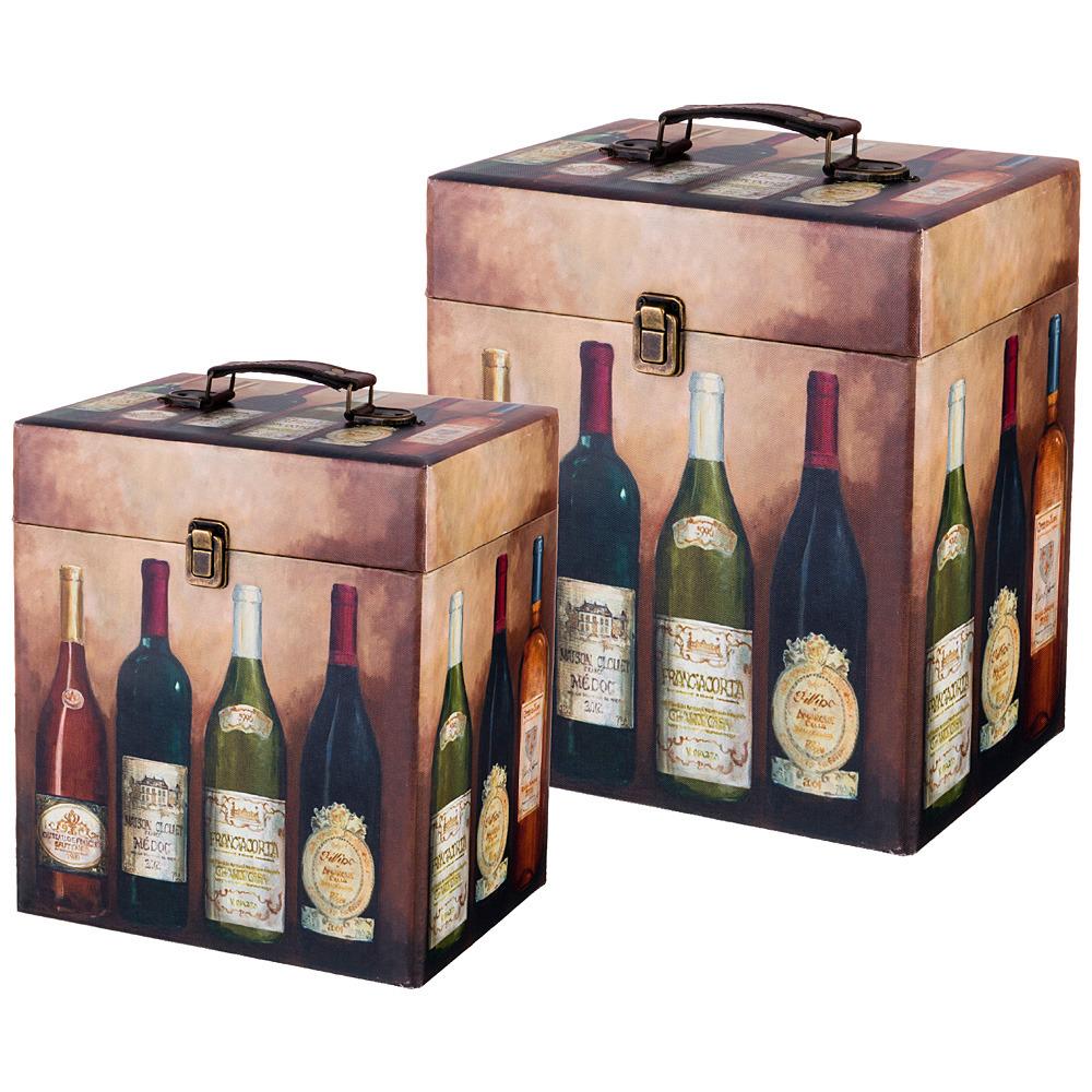 Набор шкатулок Lefard Винотека, 706-273, 2 шт набор шкатулок для рукоделия win max 2 шт 80834