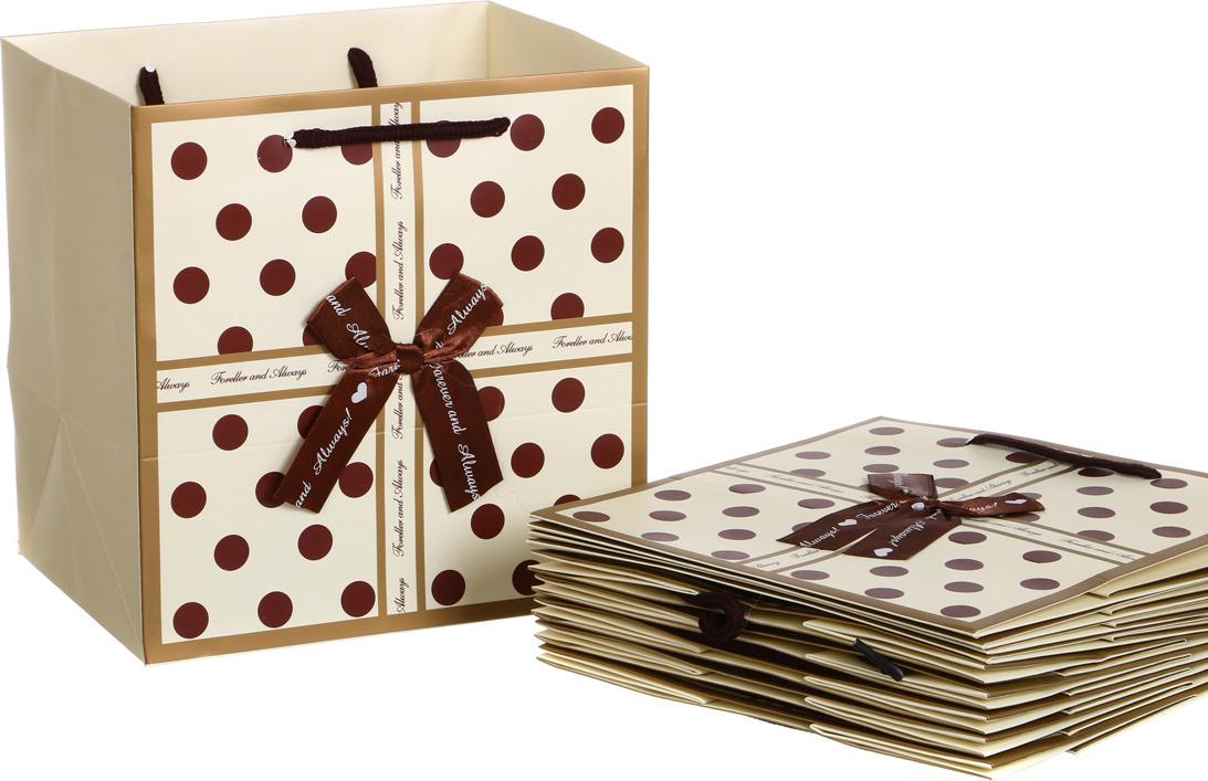 Пакеты бумажные Lefard, 521-082, 22 х 16 см, 10 шт