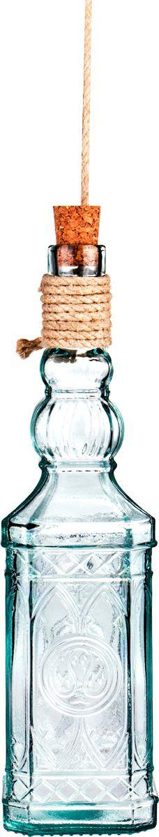 Бутылка декоративная Lefard Miguelete, 600-848, прозрачный, 700 мл600-848Декоративная бутылка Lefard Miguelete изготовлена из стекла. Такая бутылка станет прекрасным подарком или дополнением в интерьере. Дарите подарки себе и своим близким! Высота: 29,5 см. Объем: 700 мл.