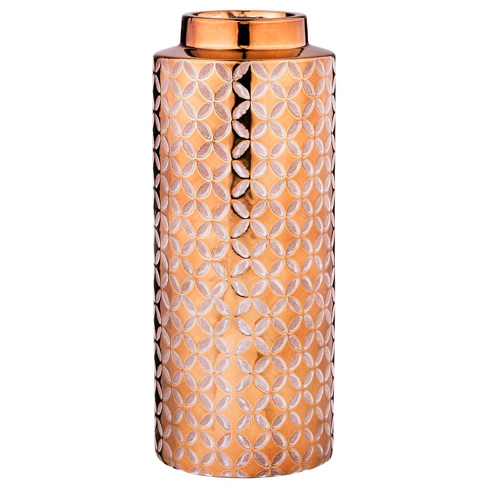 Ваза Lefard, цвет: бронзовый, 10 х 10 х 25 см стоимость