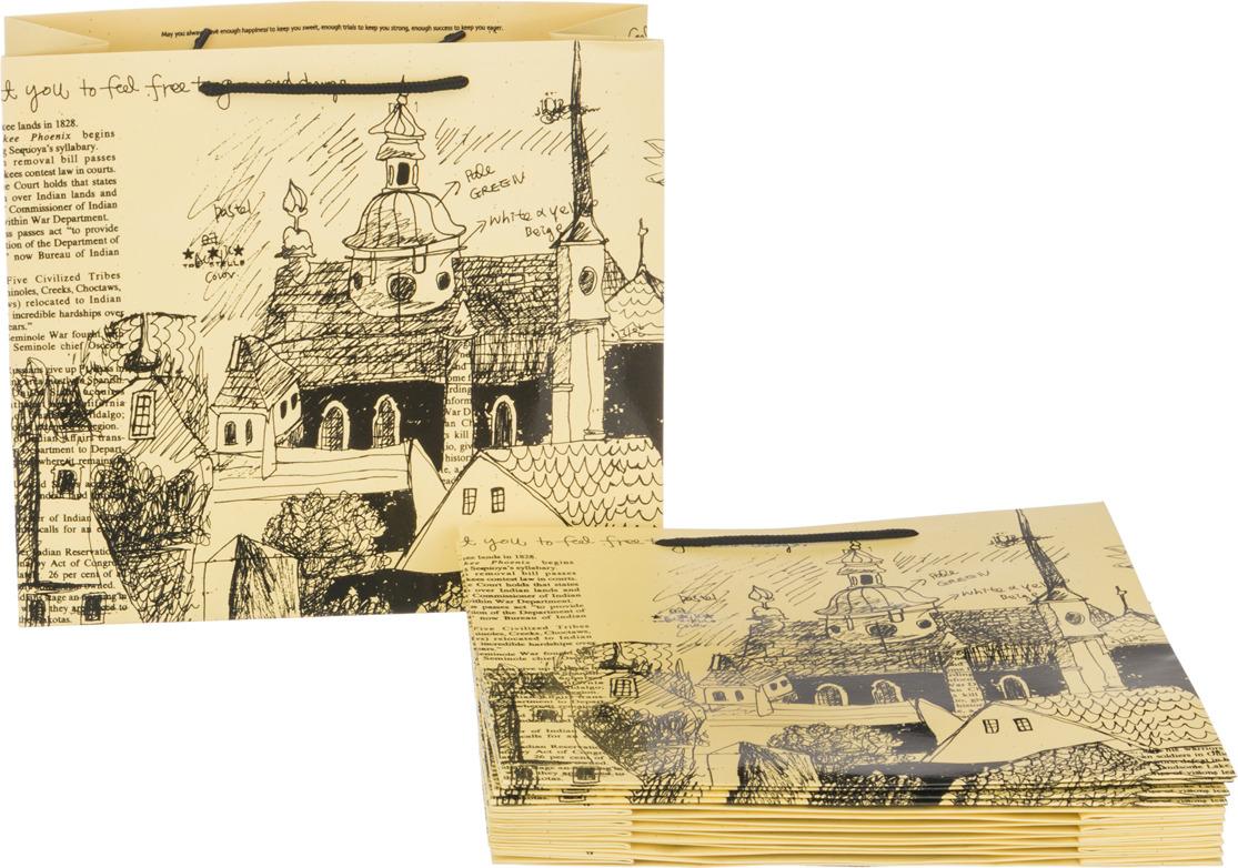 Пакеты бумажные Lefard, 521-076, 30 х 27 х 12 см, 10 шт