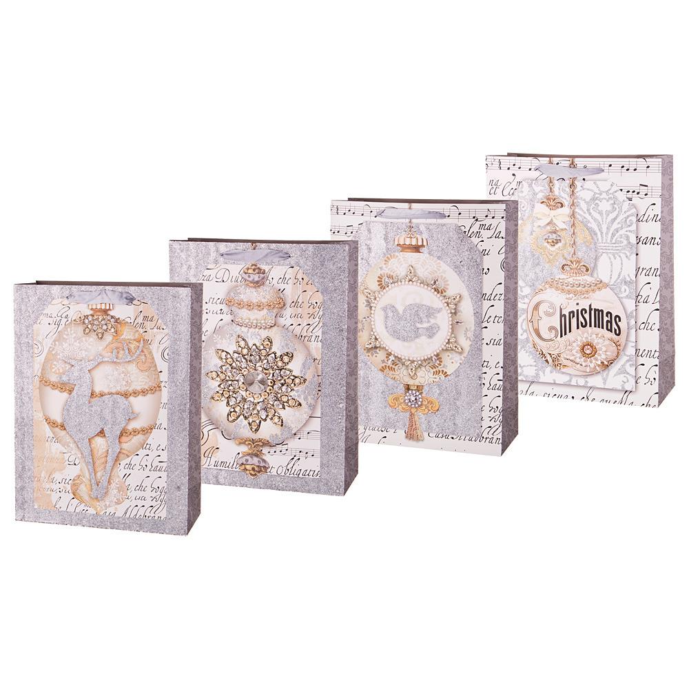 Пакеты бумажные Lefard, 512-583, 40 х 30 х 12 см, 12 шт пакеты бумажные lefard 512 577 20 х 25 х 8 см 12 шт