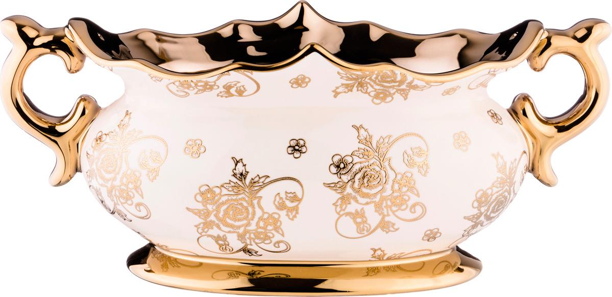 Декоративная чаша Lefard, 763-058, белый, 38 х 17 х 17 см