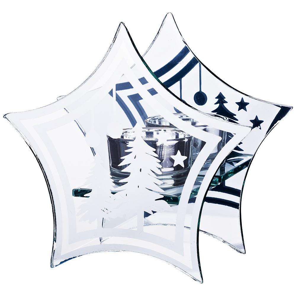 Подсвечник Lefard, 421-225, белый, 14 х 6.5 х 13.5 см