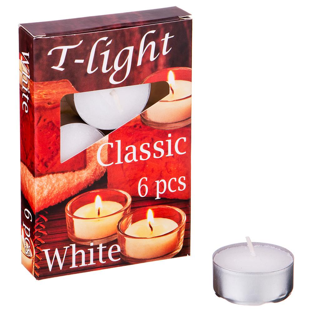 Набор плавающих свечей Lefard Classic, 348-649, белый, с подставкой, 6 шт набор рюмок с подставкой lefard 258 034