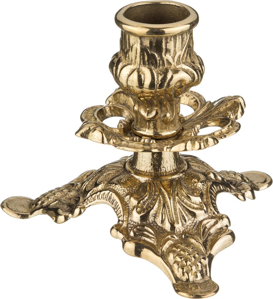 Подсвечник Lefard, 646-055, золотой, 10 х 10 х 8 см