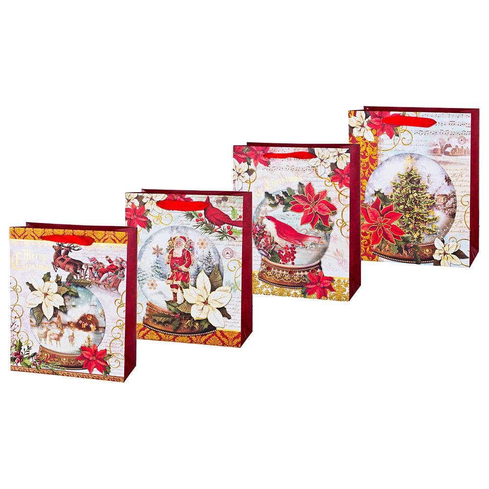 Пакеты бумажные Lefard, 512-588, 32 х 26 х 12 см, 12 шт пакеты бумажные lefard 512 577 20 х 25 х 8 см 12 шт