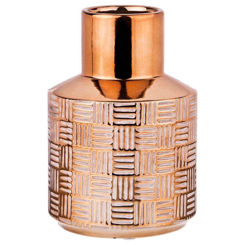 Ваза Lefard, 112-478, золотистый, высота 16,5 см ваза lefard 112 431 золотистый 21 х 12 х 34 5 см