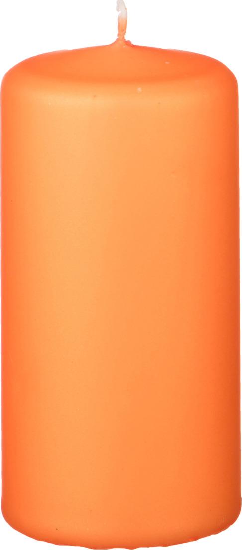 Свеча праздничная Lefard, 348-583, оранжевый, 5.8 х 12 см