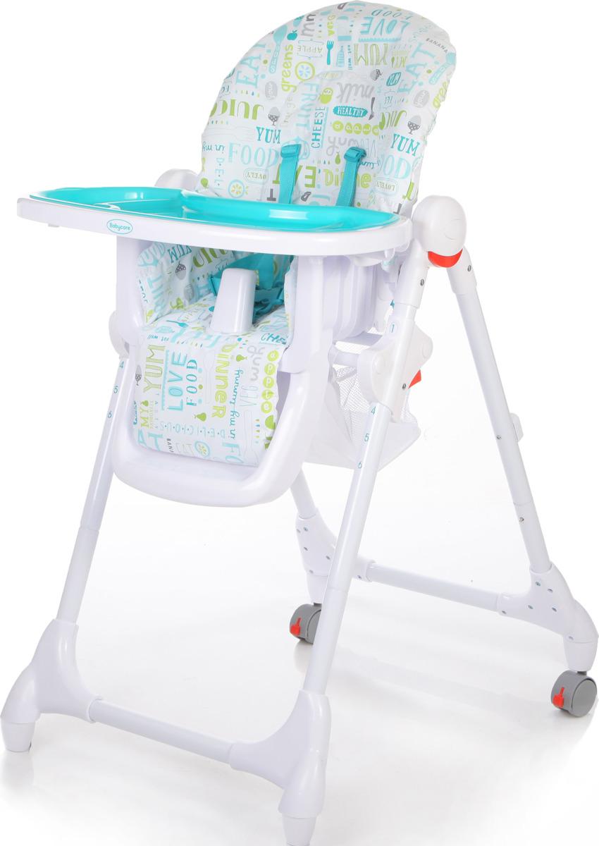 Стульчик для кормления Baby Care Fiesta, FIESTA, синий стульчик для кормления baby care o zone зеленый 505
