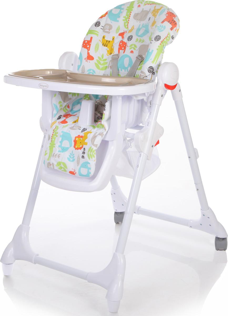 Стульчик для кормления Baby Care Fiesta, FIESTA, серый