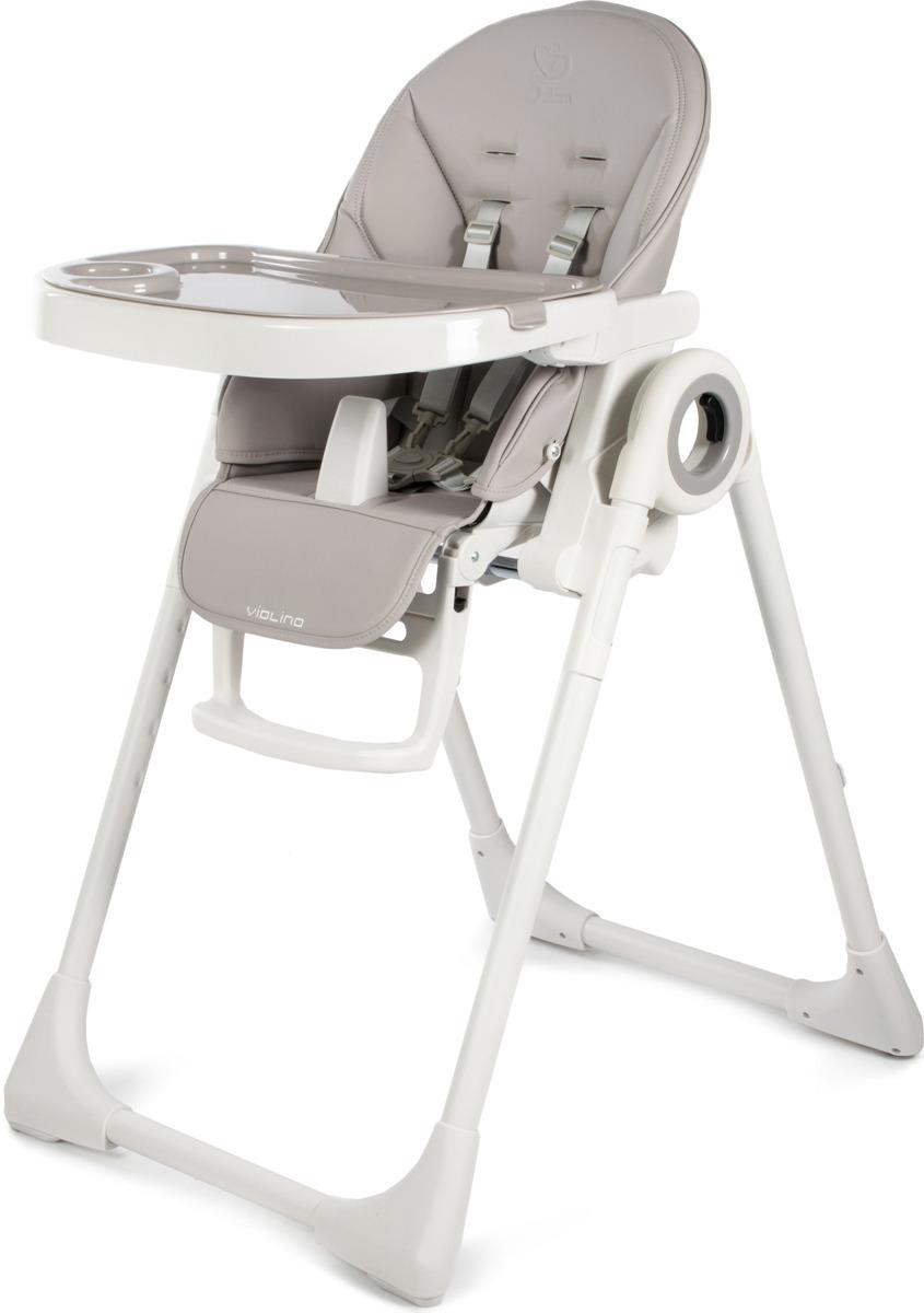 Стульчик для кормления Jetem Violino, Q1, серый стульчик для кормления jetem capitan