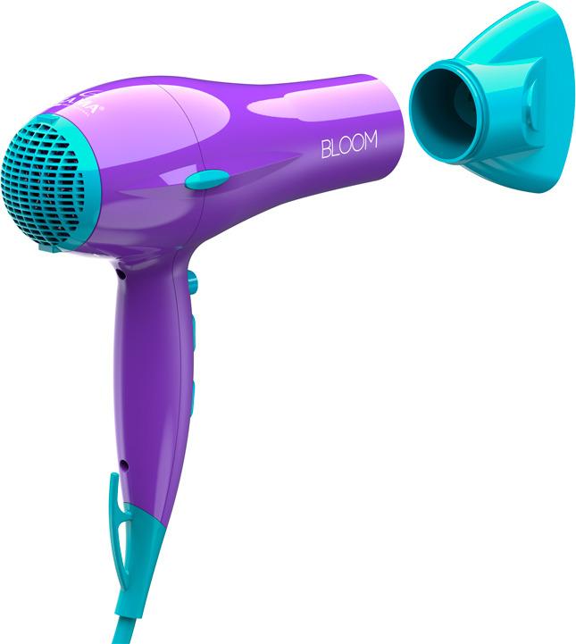 Фен GA.MA Eleganza Ion Bloom, GH1804, фиолетовый