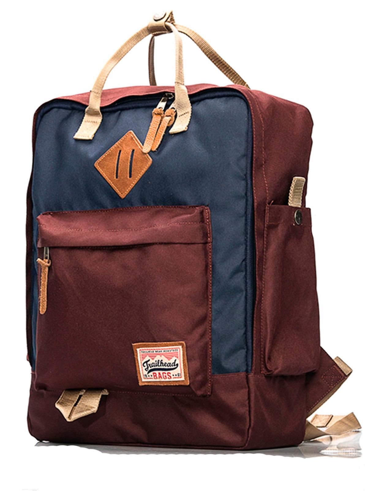 Рюкзак мужской Trailhead, цвет: бордовый, синий. BAG0003-15-1_MAROON/NV рюкзак мужской quiksilver everydaypostemb m eqybp03501 bng0 королевский синий