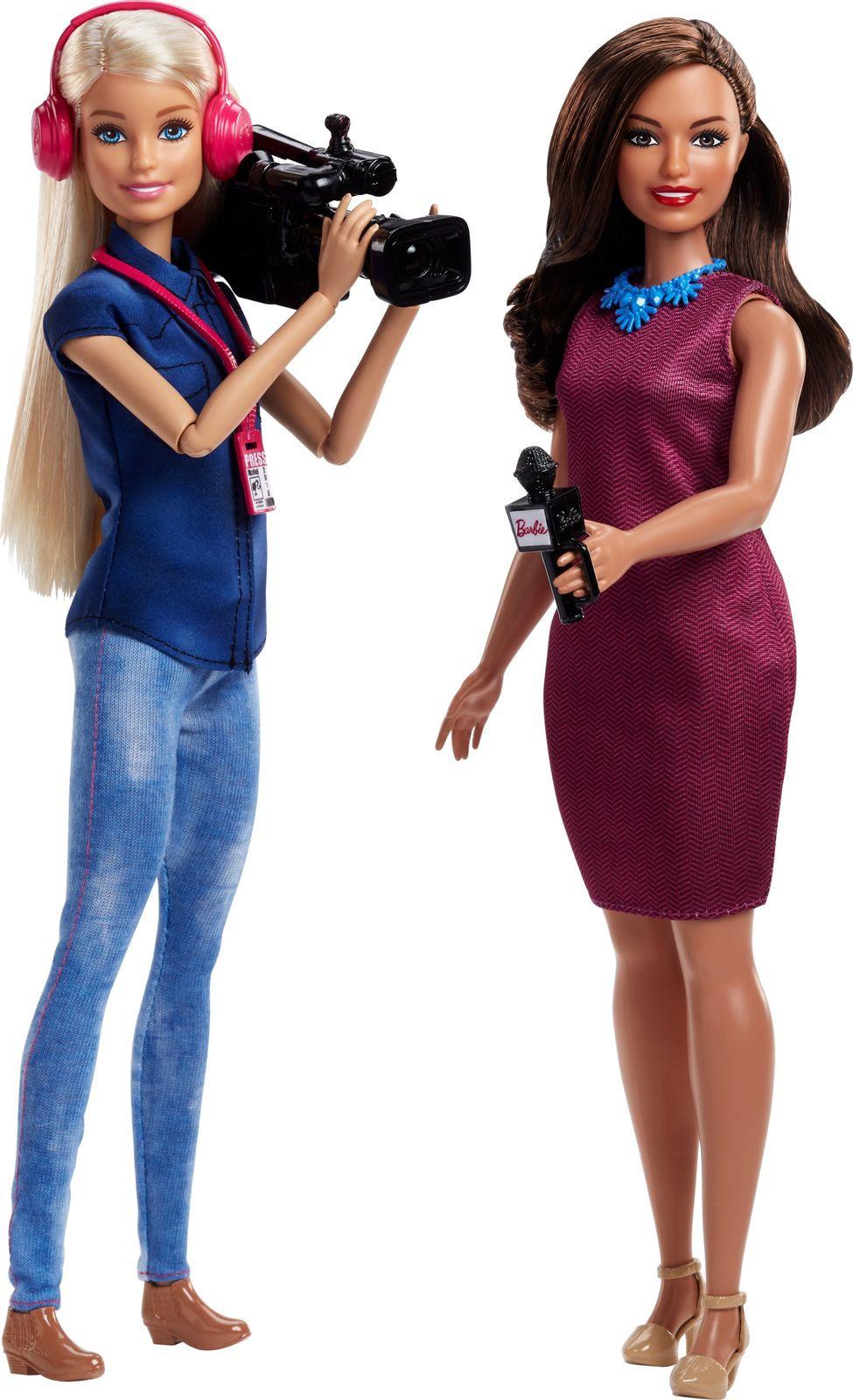 Набор кукол Barbie TV News Team, FCP64_FJB22