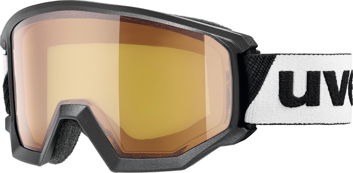 Маска горнолыжная мужская Uvex Athletic LGL Goggles, 0522-2030, черный uvex маска uvex cevron