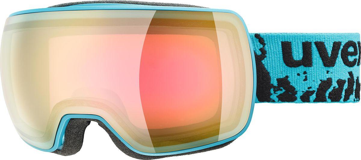 Маска горнолыжная женская Uvex Compact FM Goggles, 0130-7030, черный линза для маски electric eg3 lens fw16 clear o s