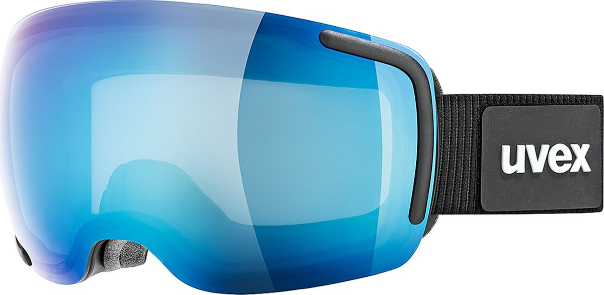 Маска горнолыжная мужская Uvex Big 40 FM Goggles, 0441-4026, синий uvex маска uvex cevron