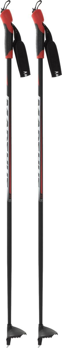 Палки лыжные для мальчика Madshus CT90 JR, A19EMDXP002-99, черный, длина 115 см цена