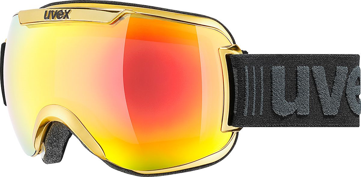 Маска горнолыжная мужская Uvex Downhill 2000 FM Race Goggles, 0112-6026, желтый uvex маска uvex cevron