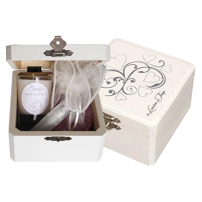 Подарочный ароматический комплект в деревянном сундучке LES LUMIERES DU TEMPS Кашемир цена